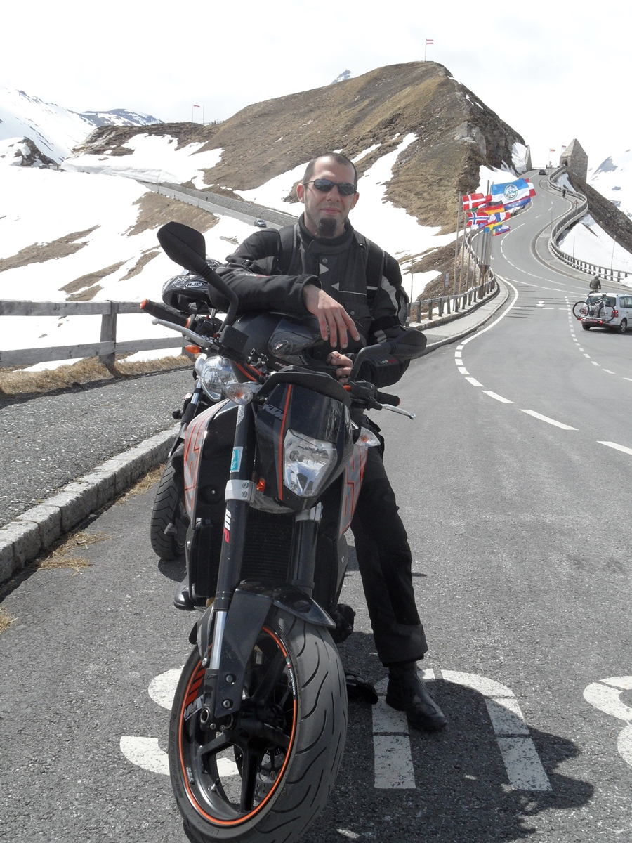 Bikers on tour